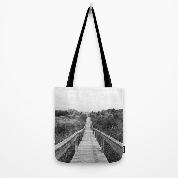 Tybee Island Beach Dock Tote Bag