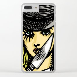 A Clockwork Wonderland Clear iPhone Case