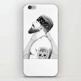 Beard Man - Thug Life iPhone Skin