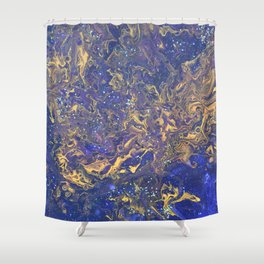 Night Magic Shower Curtain
