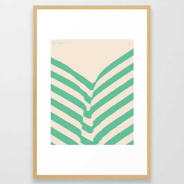 PARK PLANTS 002 — Matthew Korbel-Bowers Framed Art Print