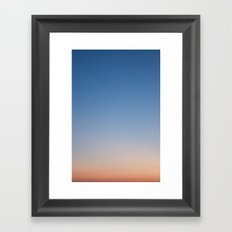 Gradient Framed Art Print