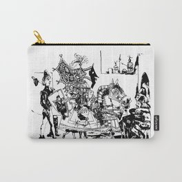 Pablo Picasso, Jeux de pages (Pages Games), 1951, Artwork Reproduction, Design for Men, Women, Kids Carry-All Pouch
