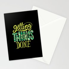 Getting Things Done Stationery Cards