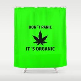 THC Cannabis smoke weed gift idea Shower Curtain