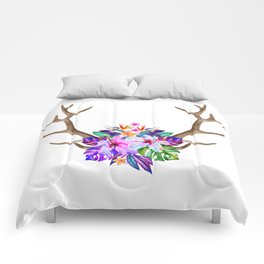 Floral Horn Comforters
