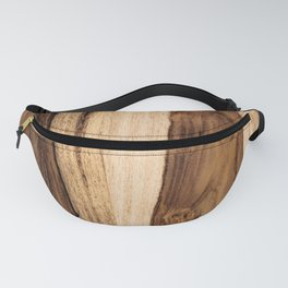 Sheesham Wood Grain Texture, Close Up Fanny Pack