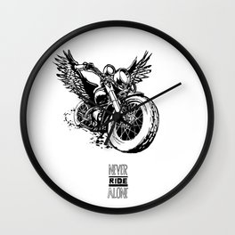 FLYING RAT Wall Clock