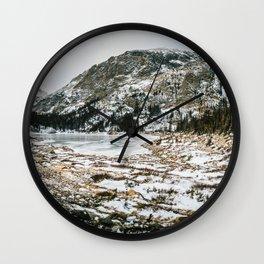 Alpine Freeze Wall Clock