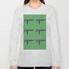 Uzi submachine gun Long Sleeve T-shirt