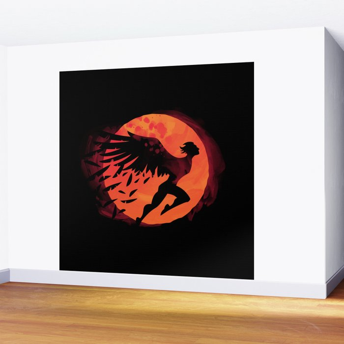 Icarus: Sunset Wall Mural