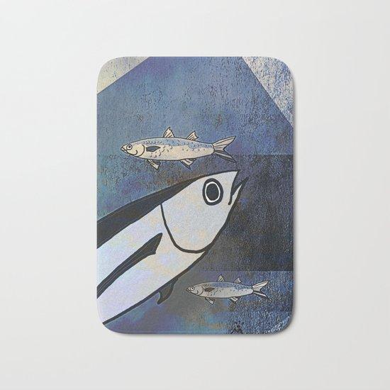 Tuna Fish and Others Bath Mat