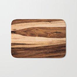 Sheesham Wood Grain Texture, Close Up Bath Mat