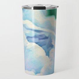 Blue Mist Peonies Travel Mug