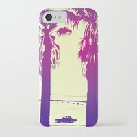 palms iPhone & iPod Cases featuring Palms by Giuseppe Cristiano