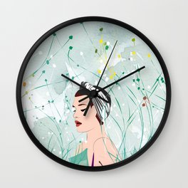 Don't Resist it Wall Clock