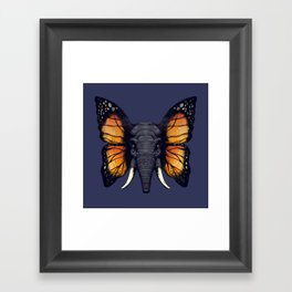 Elepfly Framed Art Print