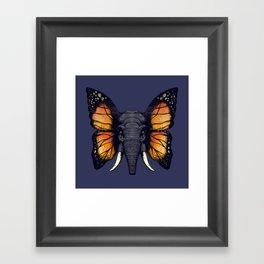 Elepfly Framed Art Print