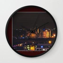 Napier College, Edinburgh. Wall Clock