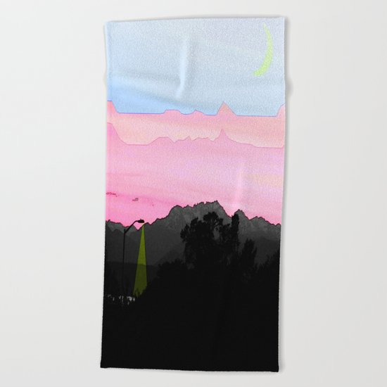 Illusion of Day Beach Towel