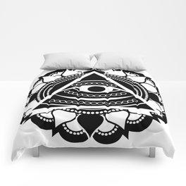 All Seeing Eye Comforters