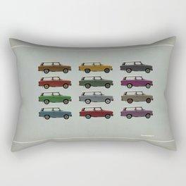 Five Trabants Rectangular Pillow