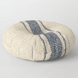 Vintage French Farmhouse Grain Sack Floor Pillow