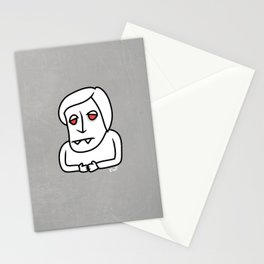 I want to work in the media Stationery Cards