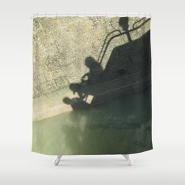 Falling into the Water #moods #buyartprints #society6 Shower Curtain