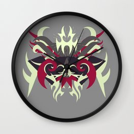 Abstraction Thirty Raijin Wall Clock
