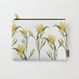 Daffodil- watercolor  Carry-All Pouch