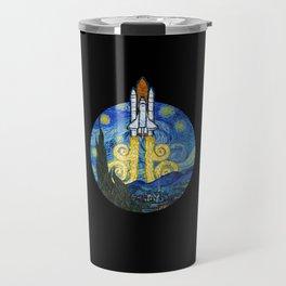 Starry Space Shuttle Travel Mug