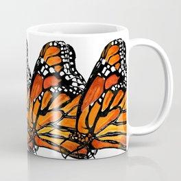 Watercolor Monarch Butterfly in Flight Coffee Mug