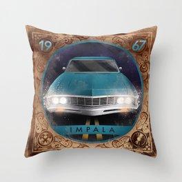 Impala 67 Throw Pillow