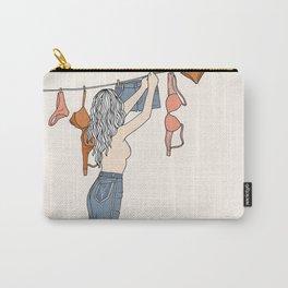 Girl Next Door Carry-All Pouch