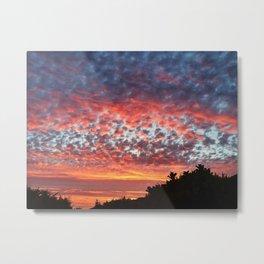 Malibu Sky Metal Print