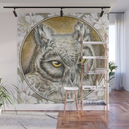 Eagle Owl Wall Mural