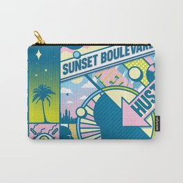 Sunset Boulevard Hustle Carry-All Pouch