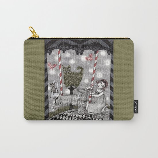 A is for Alice Carry-All Pouch