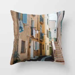 Provence France Street Throw Pillow