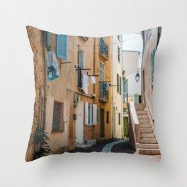 Provence France Street Throw Pillow