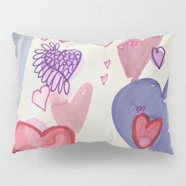 Heart Attack Pillow Sham
