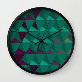 3D Futuristic GEO BG VI Wall Clock