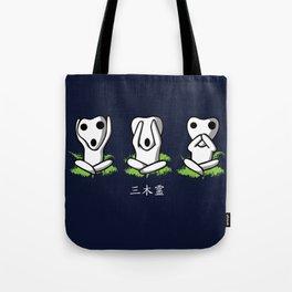 Three Kodama Tote Bag