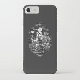 Tapelkap Dark iPhone Case