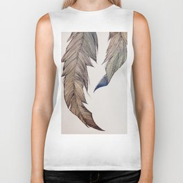 """""""Your wings already exist. All you have to do is fly."""" Biker Tank"""