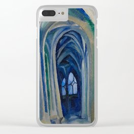 Robert Delaunay - Saint-Severin,1909 Clear iPhone Case