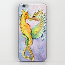 Seahorse Love iPhone Skin