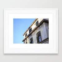 florence Framed Art Prints featuring Florence by Harry Hurlock