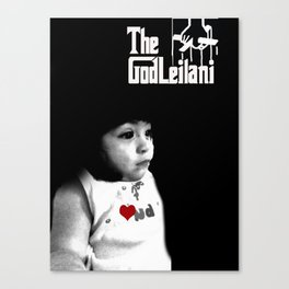 God leilani (a girft for my nephew who didnt decide on what he wanted) Canvas Print